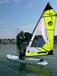 The best kids windsurfing lessons bought to you by Poole Windsurfing at Poole Harbour