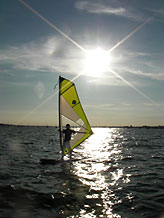 Evening Windsurf Club at Poole Windsurfing