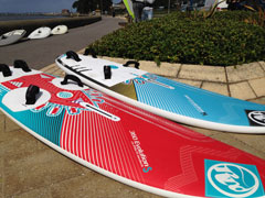 Brand new RRD Evolution windsurf boards