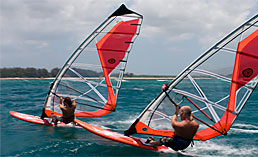 One to one private windsurfing lessons to solve any windsurf technique problem
