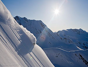 Guided off piste ski and snowboard trip to Alaska - The Ultimate Mountain Terrain!