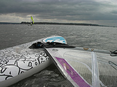 Used Windsurf Boards - RRD Easyride 180lt Windsurf Board