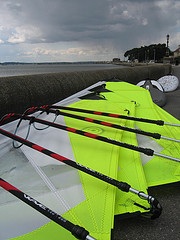 Used Windsurf Sails - Goya Surf Beginners Windsurfing Sails