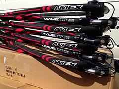Used Windsurf Booms - Amex Coreline Windsurf Booms
