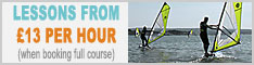 Discounted Full Beginners Windsurfing Courses