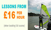Save £11 when booking a Full Beginners Windsurfing Course with Poole Windsurfing.