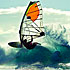 Success gained from basic learn to windsurf course through to advanced windsurfing lessons