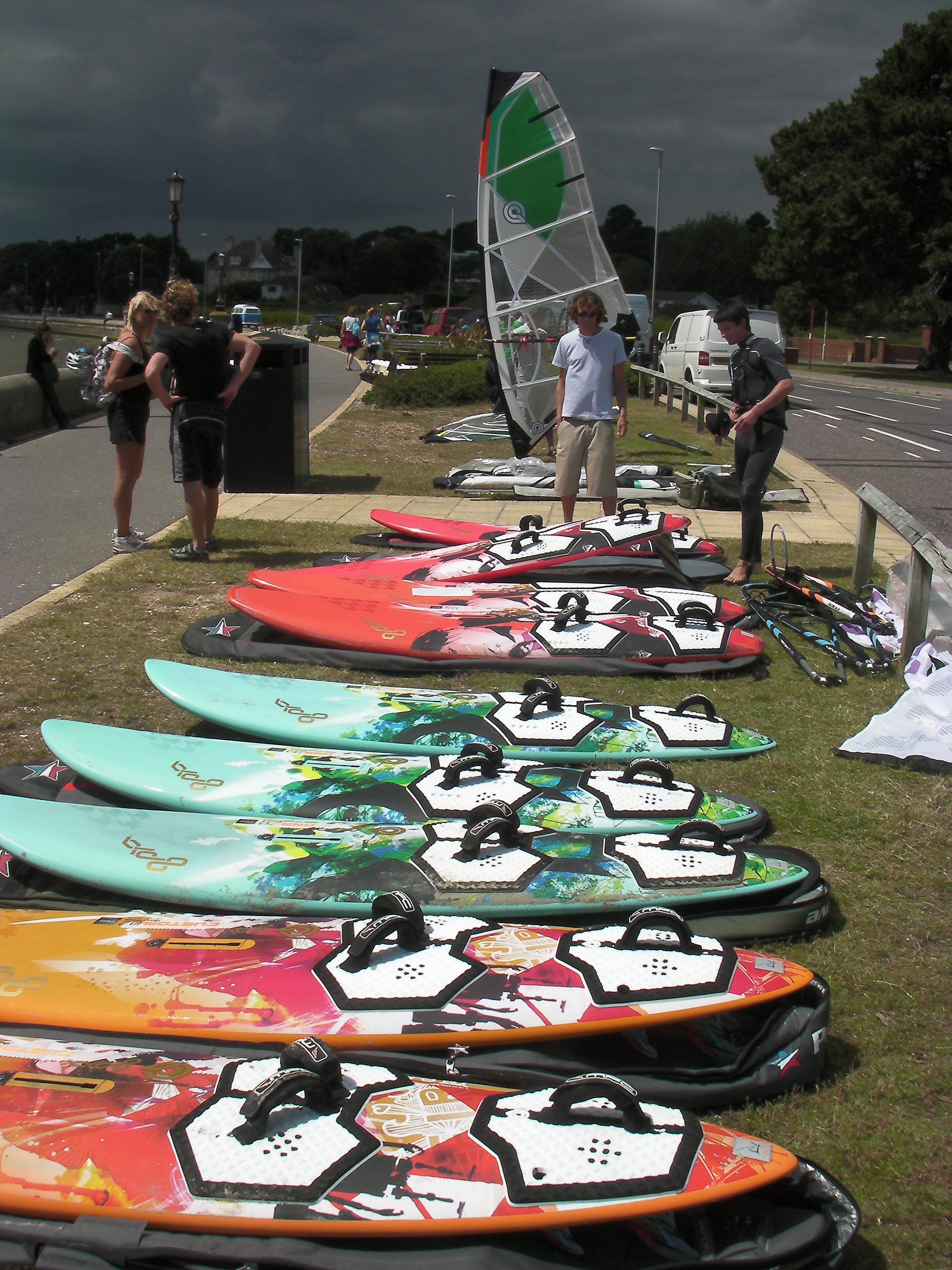 how to choose windsurfing equipment