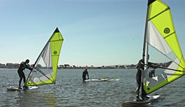 Our local windsurfing spot – Poole Harbour