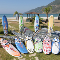 Choosing windsurfing boards