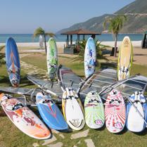 Choosing windsurfing boards