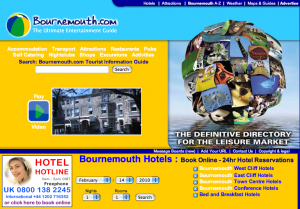 Accommodation In Poole & Bournemouth