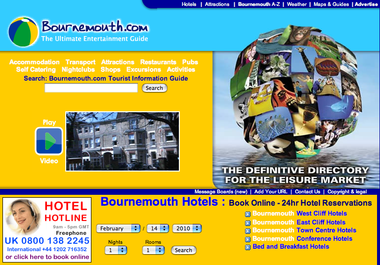 Top 3 Tips for Accommodation in Poole & Bournemouth