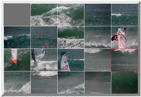 Windsurfing Photo Puzzle