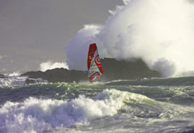 Windsurfing Big Waves - Overall photo of the year 2007