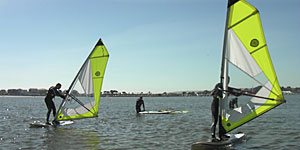 Windsurfing Near London
