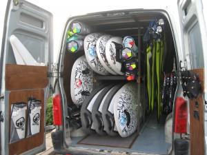 The Poole Windsurfing Setup