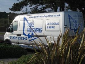 The Poole Windsurfing Van