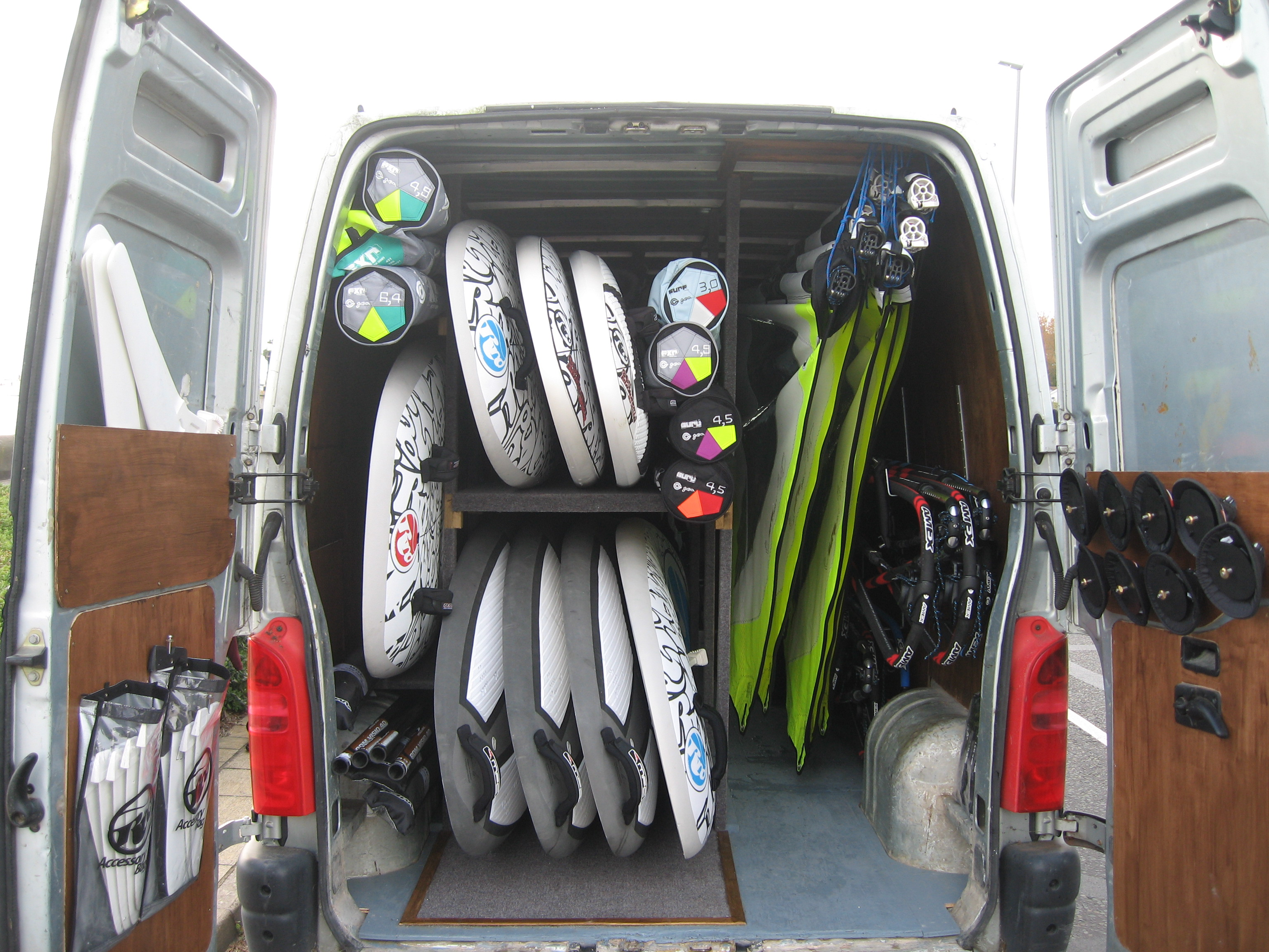 Brand New Windsurfing Equipment at Poole Windsurfing