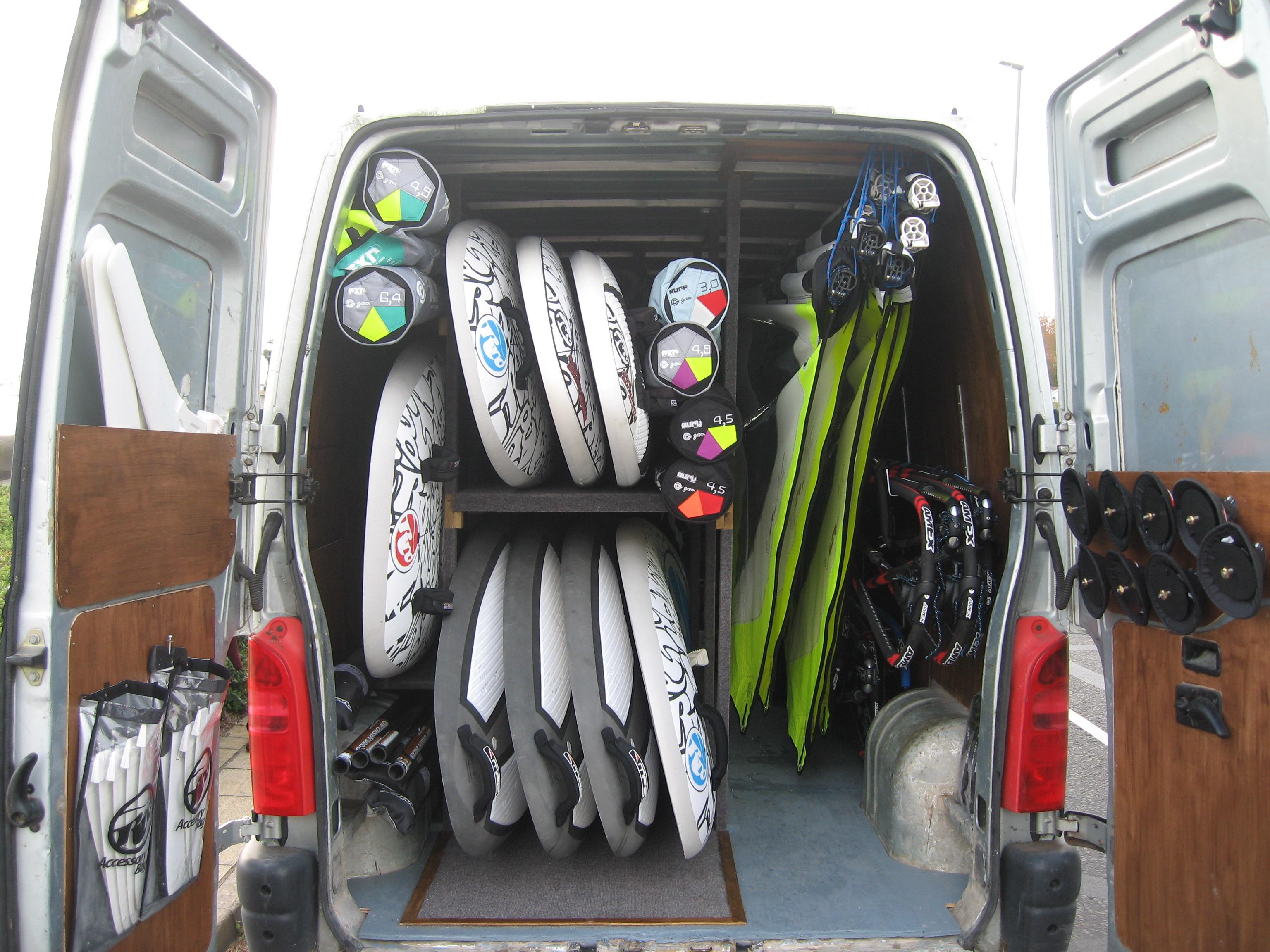 Brand New Windsurfing Equipment at Poole Windsurfing