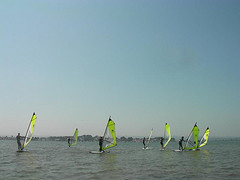 June – Great Conditions for Windsurfing Courses