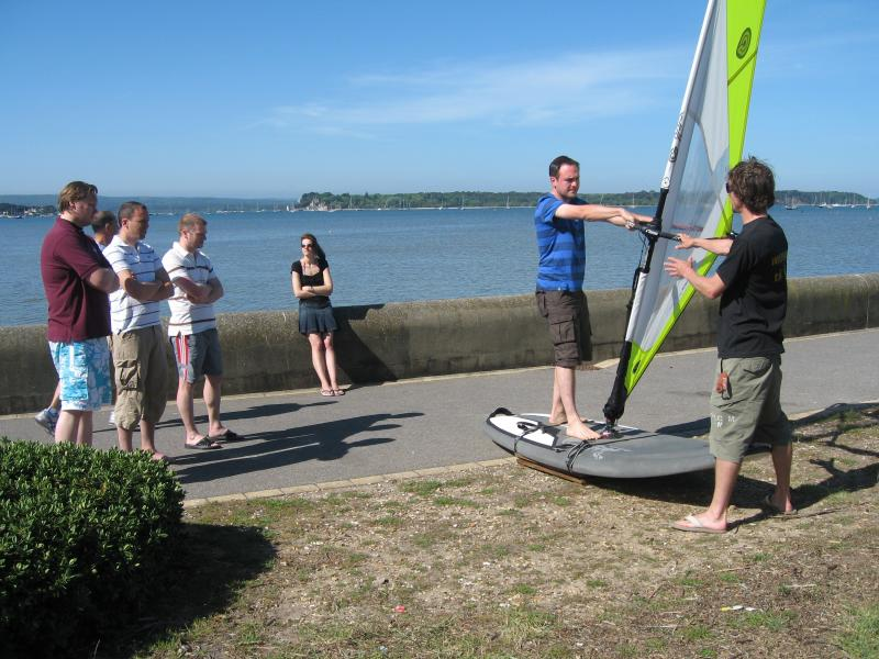 The Best Watersport is Windsurfing