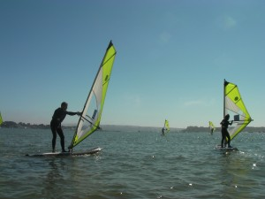 Poole Windsurfing Club in Action