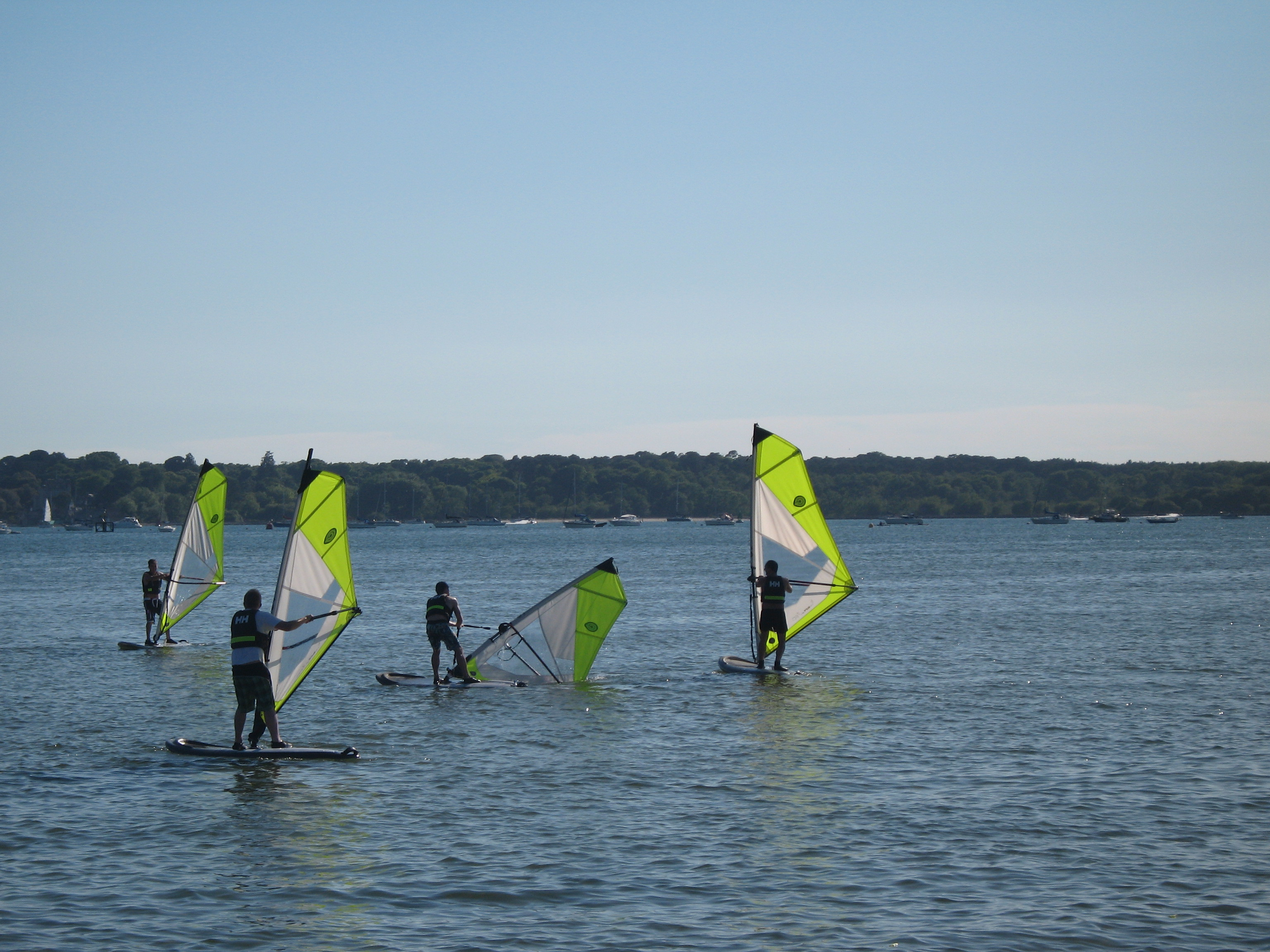 Evening Windsurf Club at Poole Windsurfing School