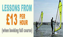 Windsurf Lessons – End of Summer Special Offers
