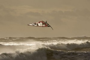 Broad Bench windsurfing and surfing