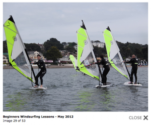 Poole Windsurfing Photo Gallery Preview