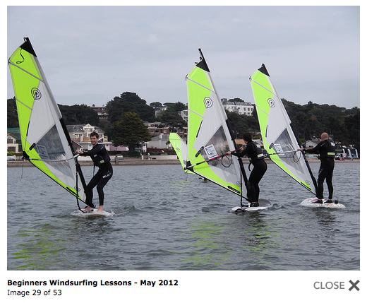 Photo Gallery of Windsurf Lessons & Windsurf Rental