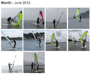 Beginners Windsurfing Lessons Photos