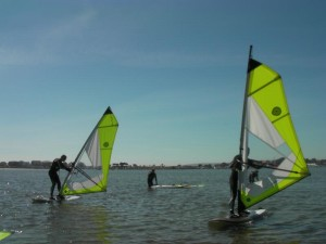 Beginners Windsurfing Lessons