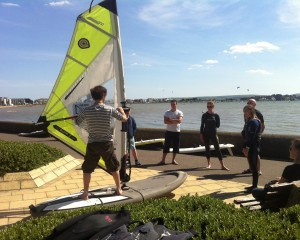 Beginners Windsurf Lesson