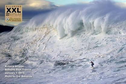 Antoine Albeau Rides Hercules Wave