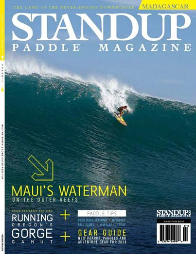 Robby Naish Makes Cover Of Standup Paddle Magazine