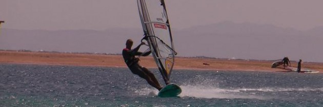 Hot Freestyle Windsurf Move