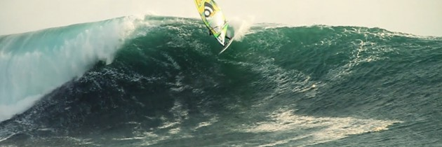 Jason Polakow and Robby Swift Windsurfing In Chile