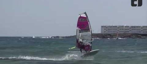 New Freestyle Windsurfing Move by Jose 'Gollito' Estredo