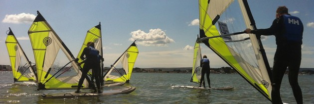 Evening Windsurf Club Back For The Summer – Poole Windsurfing School