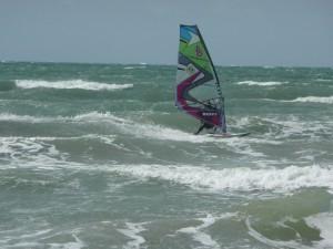 Coastal Windsurfing Location UK