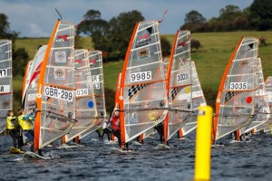 Inland Reservoir Windsurfing Location UK