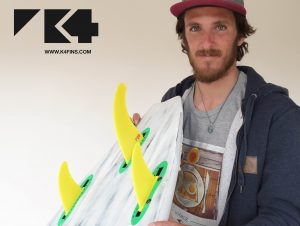 Thomas Traverse joins K4 Fins
