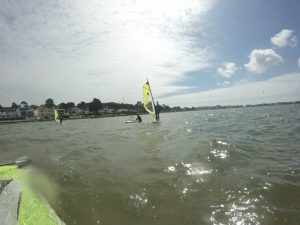 learn to windsurf summer 2018 windsurf course under way!
