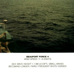 Windsurf conditions - Beaufort Force 4