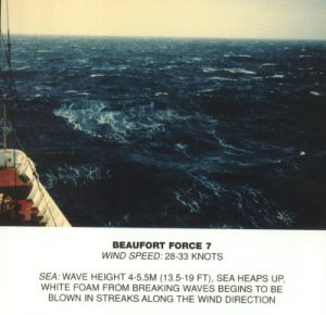 Windsurf conditions - Beaufort Force 7