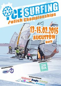 Ice board Polish Championships 2015 Poster.