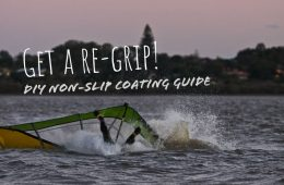 How to re-grip your windsurf board