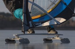 Iceboard ❄️- a cool alternative to windsurfing
